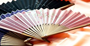 高級感溢れる日本扇子 fuwaシリーズ商品ページリンク