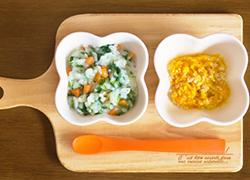 赤ちゃんが楽しくご飯を食べれるような一工夫をすることで、スムーズにスプーンデビューができる