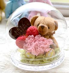 名入れ花 プリザーブドフラワー イメージ画像