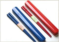 名入れ箸と箸箱がセットになった便利なセット商品